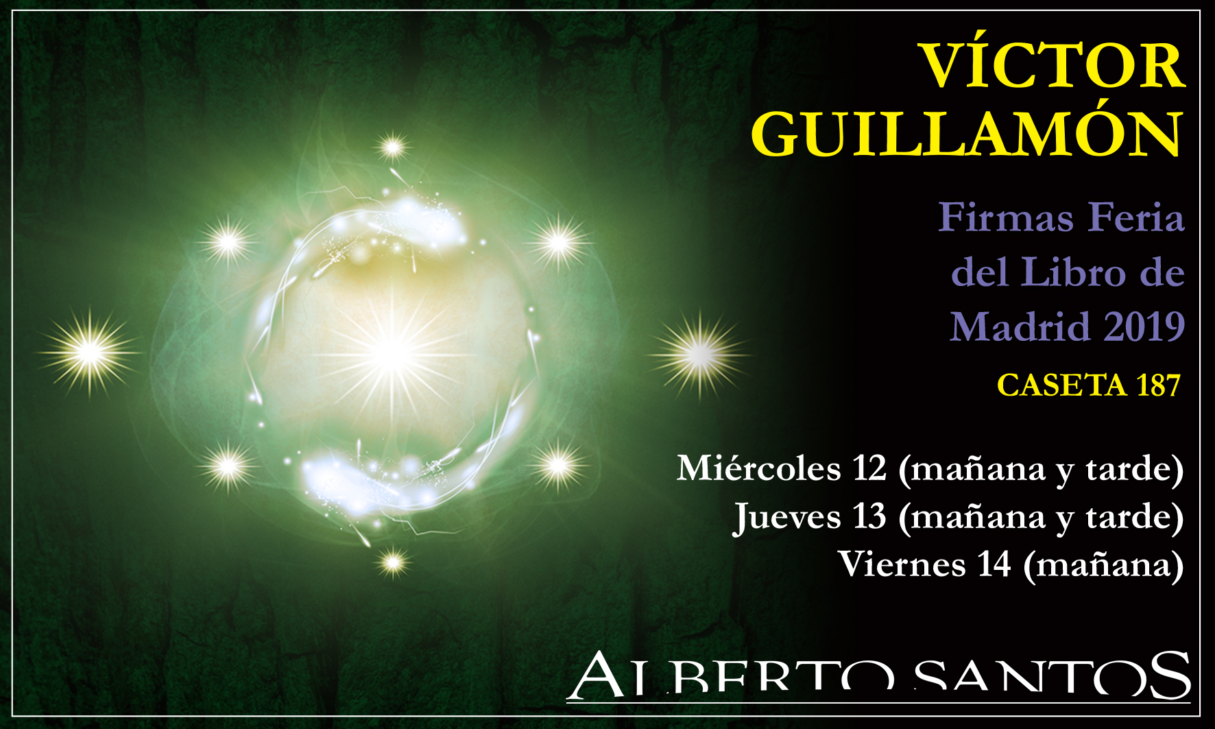 carteĺ-firmas-Victor-Guillamon-Madrid-2019